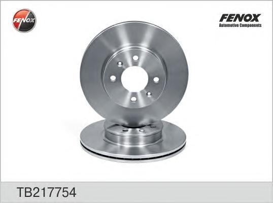 TB217754 Диск тормозной HYUNDAI GETZ 1.1-1.6 02- с АБС передний