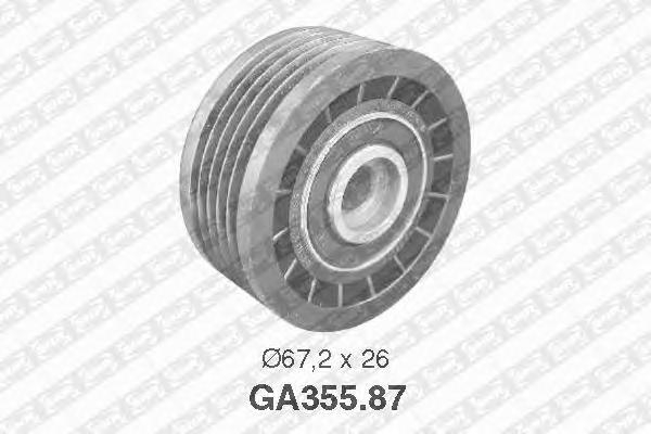 GA35587 Ролик приводного ремня Renault Master II 2.5D 98-01, 2.8DTI 99