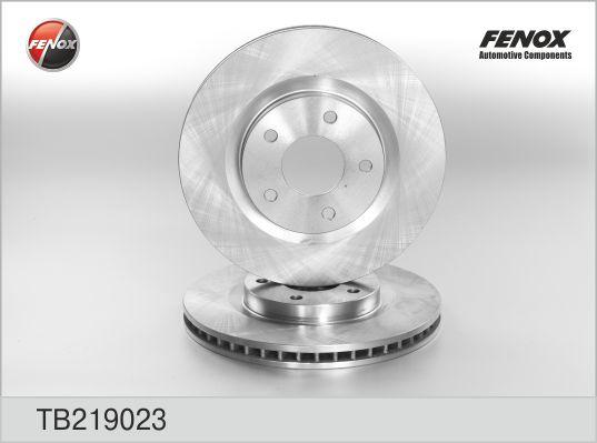 TB219023 Диск тормозной NISSAN QASHQAI 07-/X-TRAIL 07-/RENAULT KOLEOS 08- передний вент.