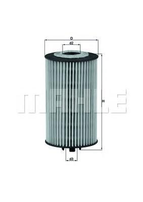 OX401D Фильтр масляный OPEL/CHEVROLET 1.0/1.2/1.4/1.6/1.8 04-