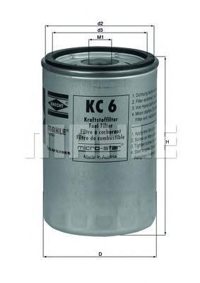 KC6 Фильтр топливный IVECO/RENAULT/MAN