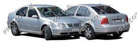 VW0811061 Бампер задний грунтованный без спойлера / VW Bora 11/98~