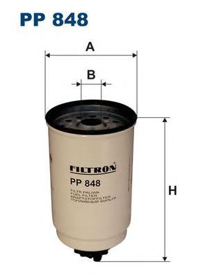 PP848 Фильтр топливный FORD TRANSIT 2.5D -00