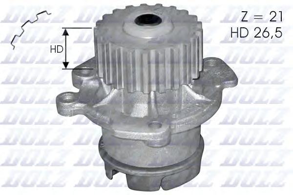 L123 Насос водяной Lada Samara 1.1-1.5 91