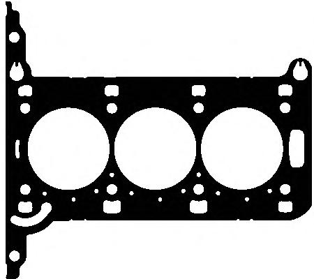 050930 Прокладка ГБЦ OPEL CORSA 1.0 Z10XEP