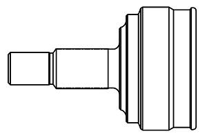 824098 ШРУС HYUNDAI GETZ 1.1-1.6 02-11 нар. +ABS