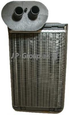 1126300900 Радиатор отопителя салона / VW Transporter T-4 (с кондиционером) 90~