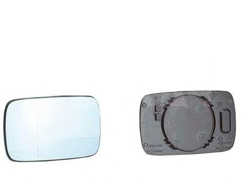 PMG0402G02 Стекло зеркала прав выпукл, тониров BMW: 3 (E30) - 82-91, (E36) 2D/4D - 91-98, (E46) 3D/4D - 98-05 , BMW: 5 (E34) - 8
