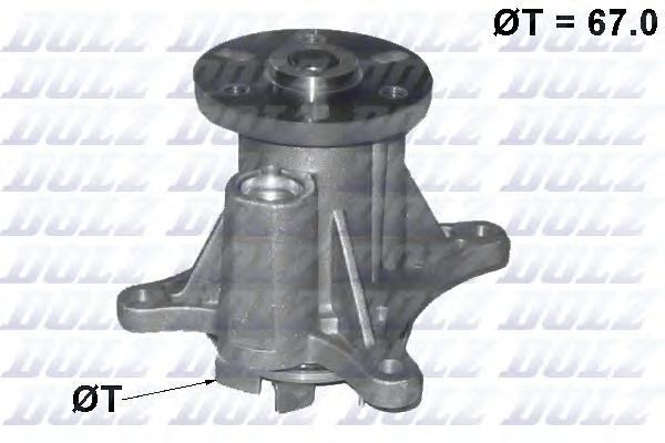 C140 Насос водяной Citroen. Peugeot 3.0HDI 09