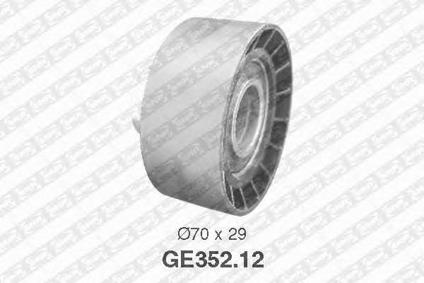 GE35212 Деталь GE352.12_pолик обводной pемня ГPМ