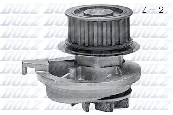 O128 Насос водяной OPEL Astra-F/SW  2.0i 16v  92-98, Calibra  2.0i 16v Kat./4x4  90-92, 2.0i Turbo Kat. 4x4  92-93, Kadett E 2.0