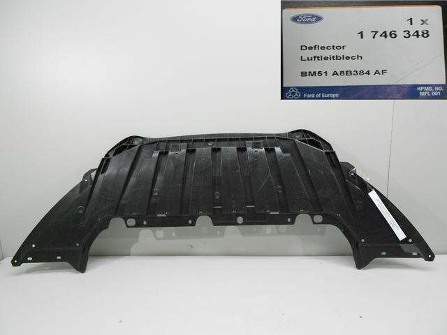 1746348 Дефлектор радиатора нижний Фокус3