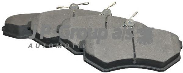 1163604710 Колодки тормозные дисковые передние / AUDI 80,90,100,200 (без датчиков) 79~
