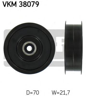 VKM38079 Ролик ремня приводного MB W203/204/211/251/221/906 2.3-5.0