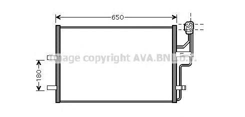 MZ5186 Конденсер MAZDA 3 D10/03-