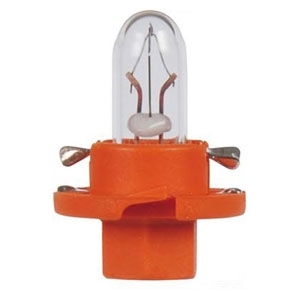 17046 Лампа 12V 1,1W BX8,4D orange