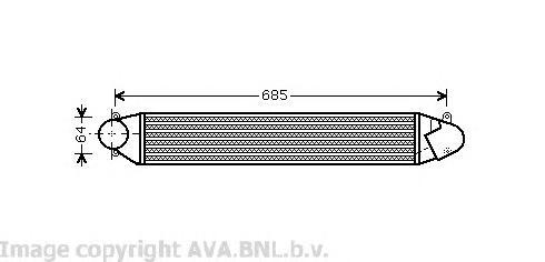 VW4248 Интеркулер FORD GALAXY / VW SHARAN 1.9TD 00-06