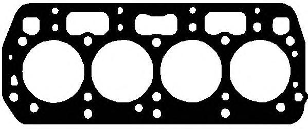 825257 Прокладка ГБЦ SKODA FABIA/FELICIA 1.3/1.4 94-03