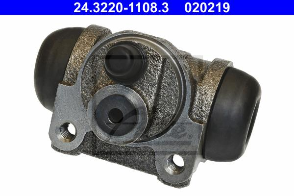 24322011083 Цилиндр тормозной рабочий FIAT: 500 1.2/1.3 D Multijet 07-, 500 C 0.9/1.2/1.3 D Multijet 09-, PANDA (169) 1.1/1.2/1.