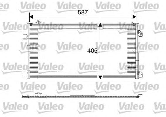 817646 Конденсатор кондиционера RENAULT: CLIO II (BB0/1/2_, CB0/1/2_) 1.5 D/1.5 dCi/1.5 dCi (B/CB07)/1.5 dCi (B/CB08) 98-, CLIO