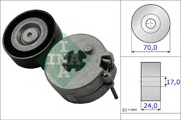 534033310 Натяжитель ремня приводного AUDI A4/A5/VW AMAROK 1.8/2.0 07-