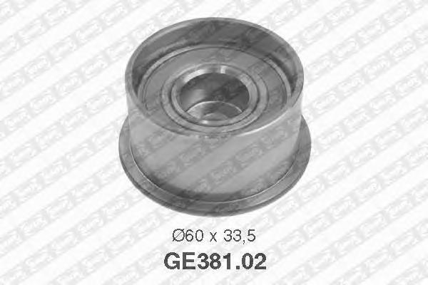 GE38102 Деталь GE381.02_pолик обводной pемня ГPМ