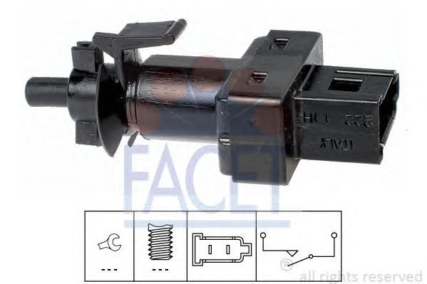 71222 Датчик стоп-сигнала VW: CRAFTER 2.5TDI 06-  MB: VITO, VANEO, VIANO, SPRINTER 95-