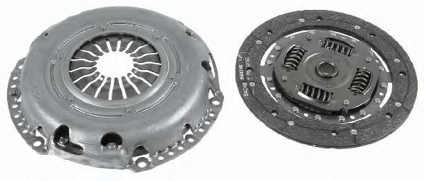 3000951024 Сцепление к-т FORD FOCUS/CMAX/VOLVO S40/C30/V50 1.4/1.6 04- без подшипника