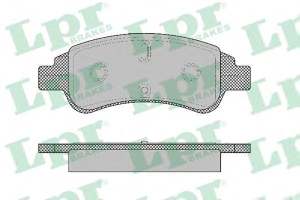 05P1327 Колодки тормозные CITROEN BERLINGO/C4/XSARA/PEUGEOT PARTNER передние