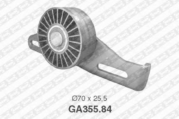 GA35584 Ролик ремня приводного RENAULT LOGAN/MEGANE 1.4-1.6 8V натяжной б/конд.