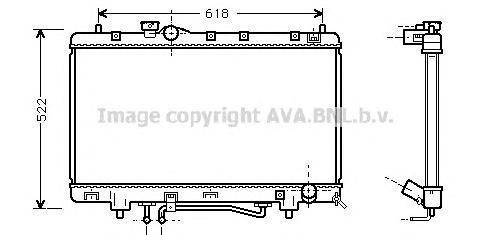TO2242 Радиатор TOYOTA PICNIC 2.0 96-02