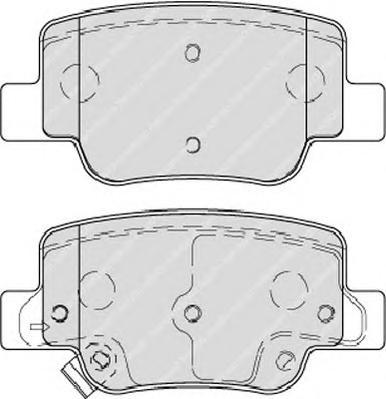 FDB4275 Колодки тормозные TOYOTA VERSO 09- задние