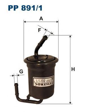 PP8911 Фильтр топливный