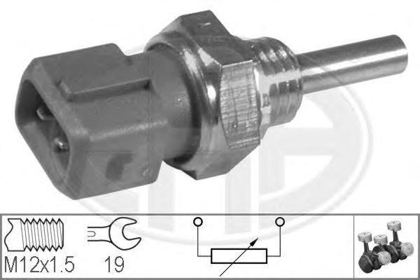 330121 Датчик температуры охлаждающей жидкости ALFA ROMEO: 145 (930) 1.4 i.e. 16V T.S./1.6 i.e. 16V T.S./1.8 i.e. 16V T.S./2.0 1