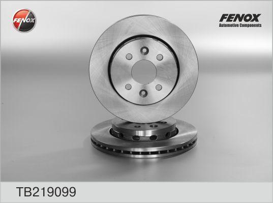 TB219099 Диск тормозной KIA SHUMA 01-04/SPECTRA 00- передний вент.D=258мм.