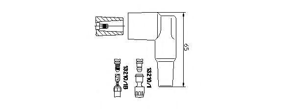 132101 Вилка, распределитель зажигания