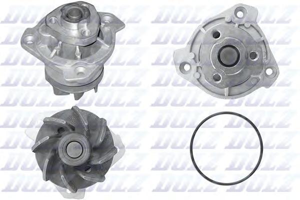 A202 Насос водяной Audi A3/TT 3.2 V6 02- / VW Bora/Golf/Touareg/Phaeton 2.8/3.2 V6 02-