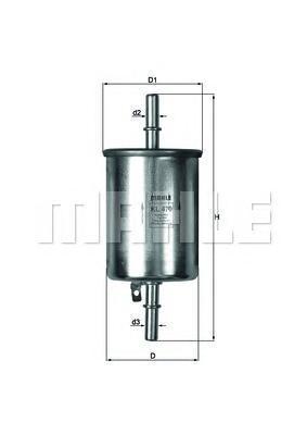 KL470 Фильтр топливный CHEVROLET AVEO 1.2-1.4