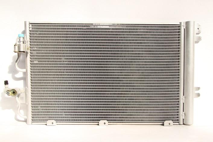 104767l Радиатор кондиционера OPEL ASTRA H 1.6-1.8L МКПП/АКПП 2004=