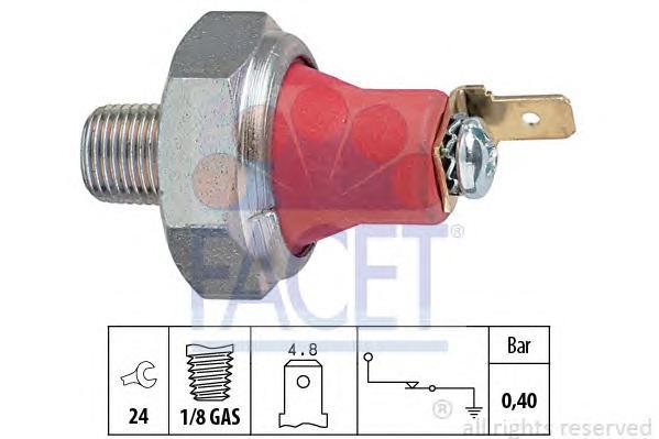 70173 Датчик давления масла DAEWOO: KALOS (KLAS) 1.2 02-, MATIZ (KLYA) 0.8/1.0 98-