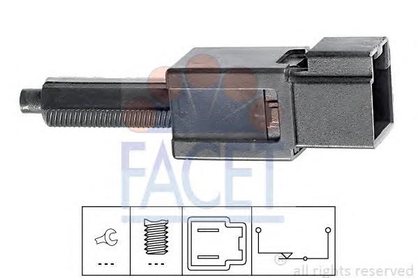 71165 Датчик стоп-сигнала INFINITI: FX 3.5/35/4.5/45 03-  NISSAN: 350 Z (Z33) 3.5 02-, 350 Z Roadster 3.5 03-, ALMERA II (N16) 1