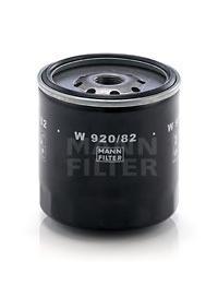 W92082 Фильтр масляный ISUZU TROOPER 2.8TD
