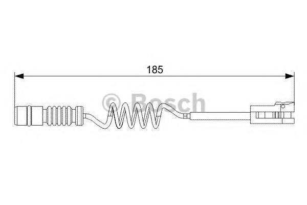 1987473007 Датчик износа торм.колодок MERCEDES SPRINTER/VW CRAFTER 06- пер.