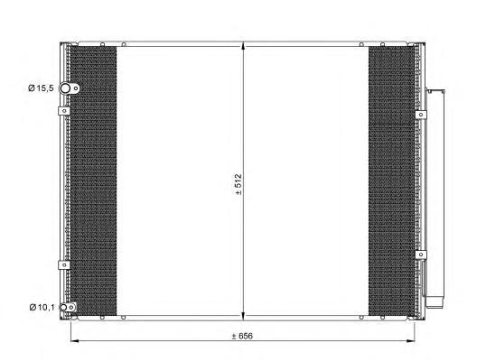 35857 Конденсатор LEXUS RX 400H 05-
