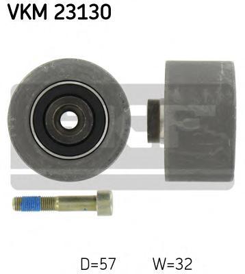 VKM23130 Ролик промежуточный ремня ГРМ Peugeot 206/307/Partner 1.6 16V 00-, Citroen C3/Berlingo/Xsara 1.6 16V 00-