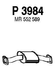 P3984 Резонатор MITSUBISHI PAJERO 2.5 TDi 90-00