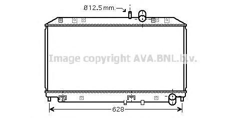 MZ2169 Радиатор MAZDA RX-8 1.3 03-