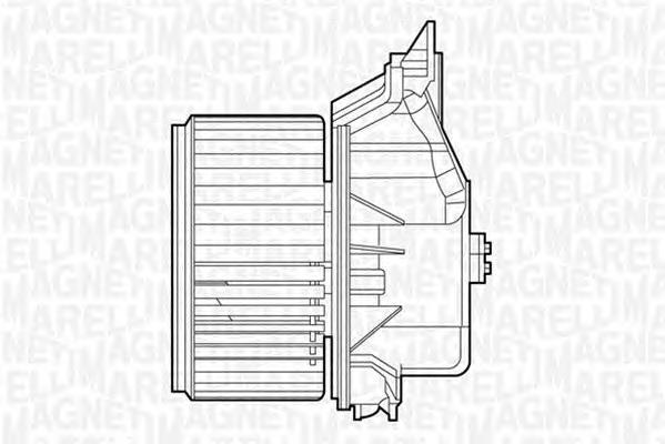 069412528010 MTE528AX Моторчик печки FIAT PUNTO/GRAND PUNTO (199) 1.2/1.4 05-