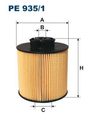 PE9351 Фильтр топливный MB ATEGO/VARIO