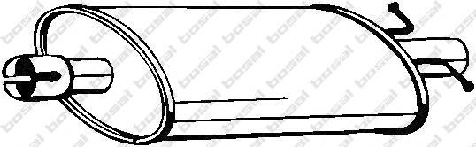 155231 Резонатор FORD TRANSIT 2.5D 94-96